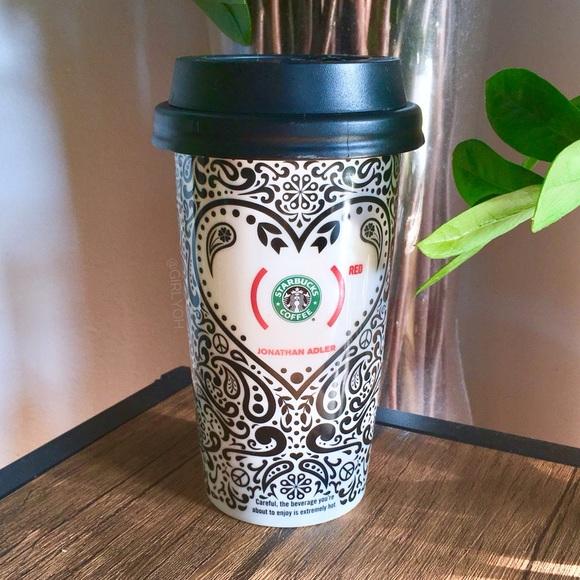 Adler Ceramic Paisley Jonathan Tumbler Starbucks 7I6vYgybf